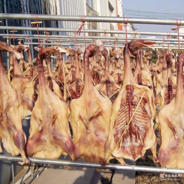 农家野生放养禽类自制腊肉 手工腌制咸货鲜肉干批发 特产年货咸鸭