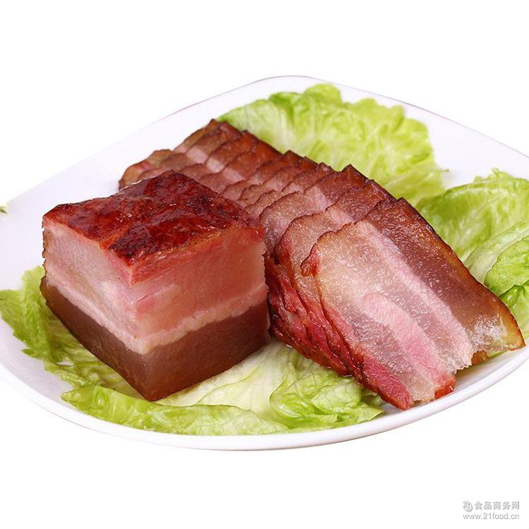 恩施腊肉 农家自制五花肉 柴火烟熏腊肉 恩施土特产手工腌肉