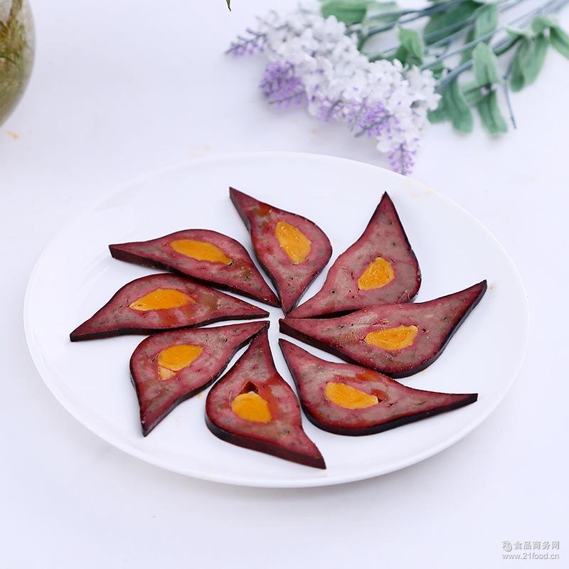 酒楼饭店*150g 凤眼猪肝 (岳老大)蛋黄猪肝 特色食品美食