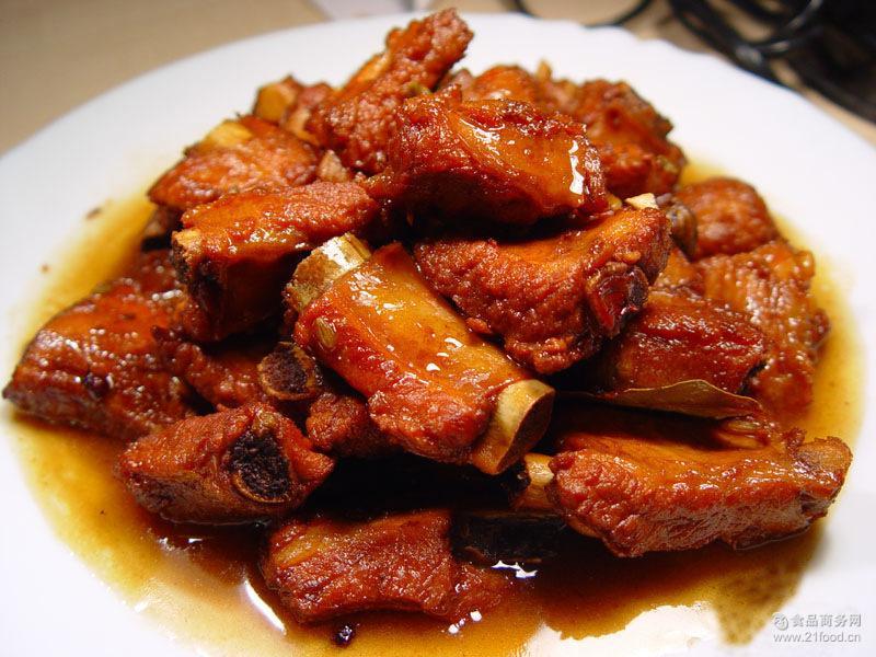 藏香猪排五香酱烤西藏林芝特产藏好天然放养年货礼品工厂直销