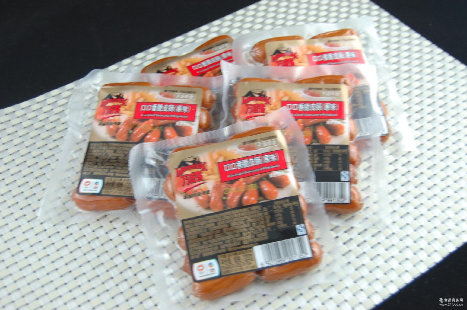 黑椒 蜜糖 芝士)120g 中粮万威客口口香脆皮香肠(原味 小香肠
