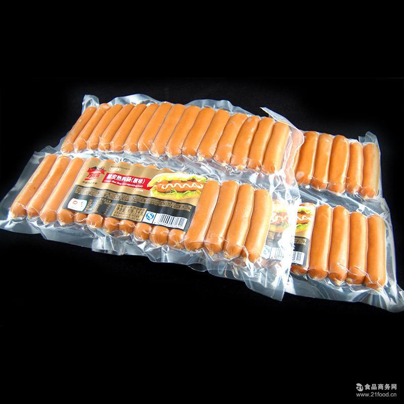 原味 热狗肠烘焙面包原料 中粮万威客 蜜糖1kg装 黑椒 脆皮热狗肠