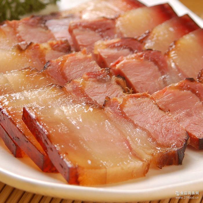 四川特产正宗土猪肉五花肉腊肉农家纯手工自制柴火烟熏腊肉500克