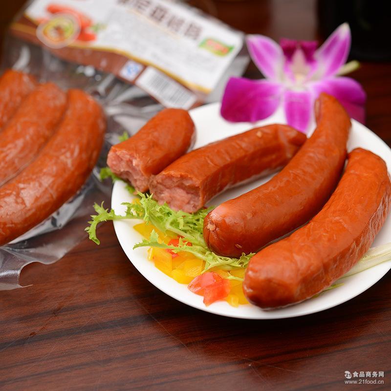 波尼亚黑森林火腿 低脂猪肉德国香肠批发1000g 山东特产
