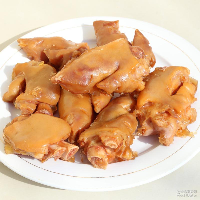 厂家推荐 久食不腻安氏卤猪蹄 厂家现货出售酥而不烂卤猪蹄