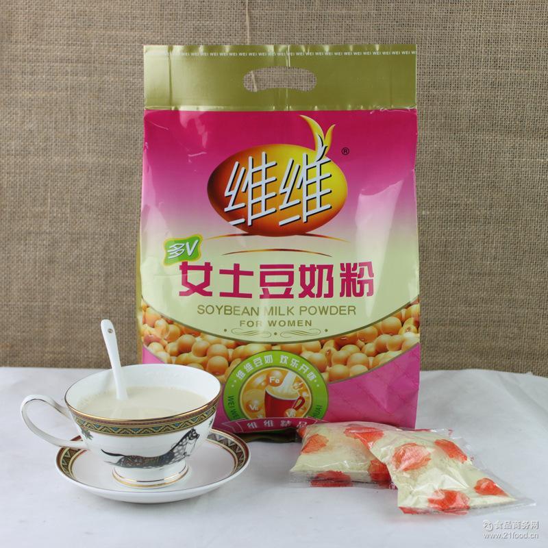 16袋包邮 维维豆奶粉 营养早餐 500g女士豆奶袋装