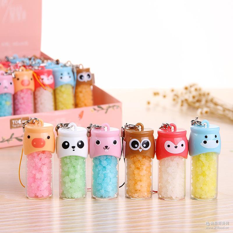 许愿瓶糖果 新款创意糖果批发 t144韩国糖果 动物家族