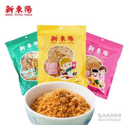 袋装 儿童肉粉松 台湾肉制品专家 105g 新东阳 营养猪肉松