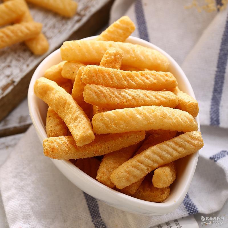 台湾零食 非油炸品 4种口味膨化食品老少咸宜 虾味先蜜烤鱿鱼60g