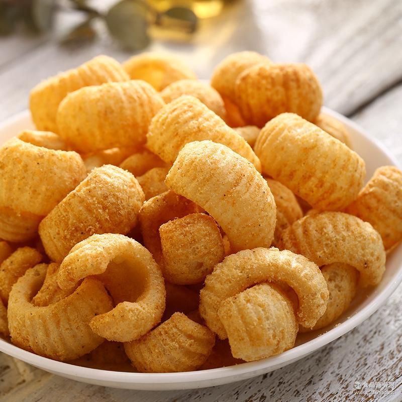4种口味膨化食品老少咸宜 进口零食台湾 非油炸品 虾味辣味60g