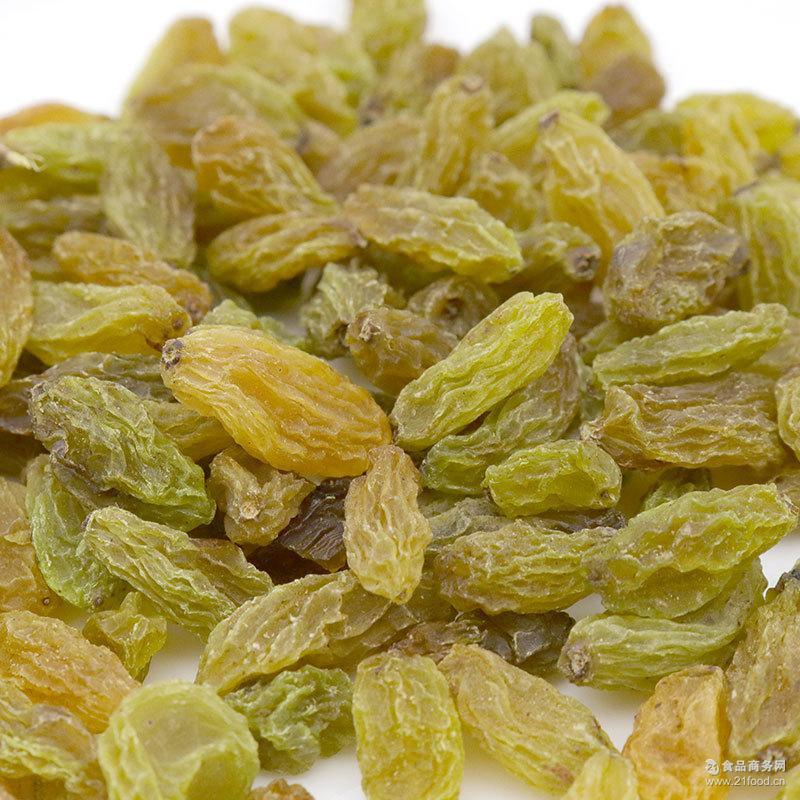 无籽绿提子干休闲零食 新疆吐鲁番特产 无核葡萄干