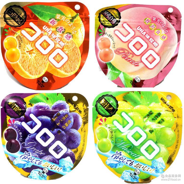 果汁*橡皮软糖 悠哈味觉软糖 日本进口UHA悠哈味觉糖 40g