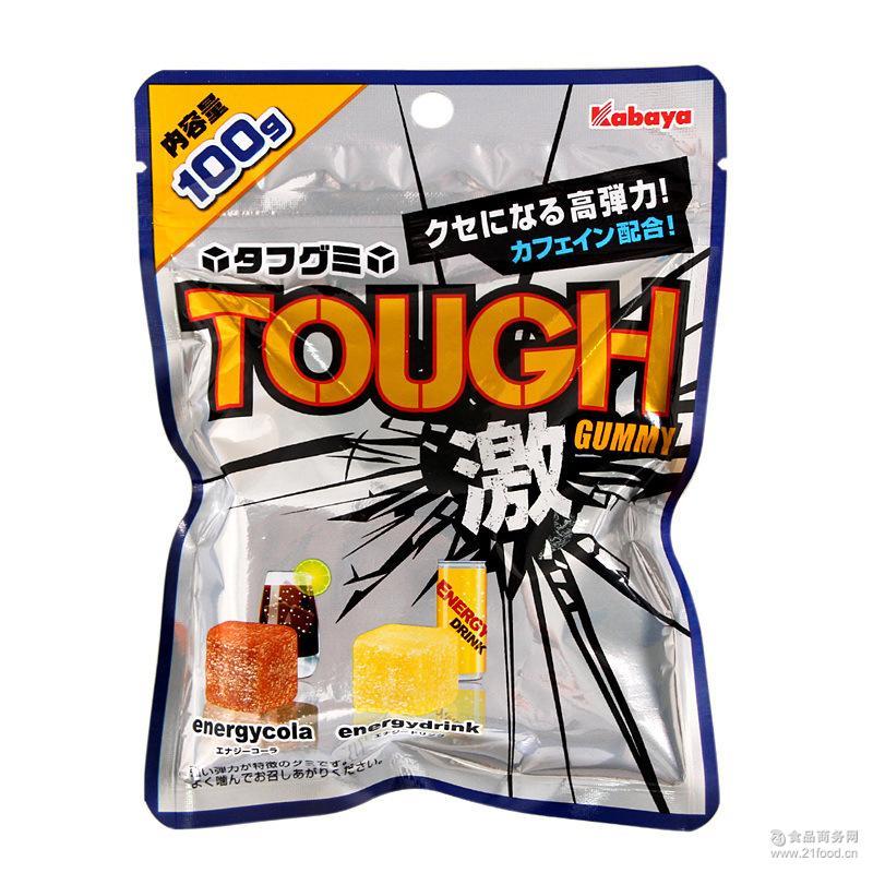 2味弹性咀嚼可乐味 盒 能量汽水QQ软糖100g *6包 日本糖果卡巴呀