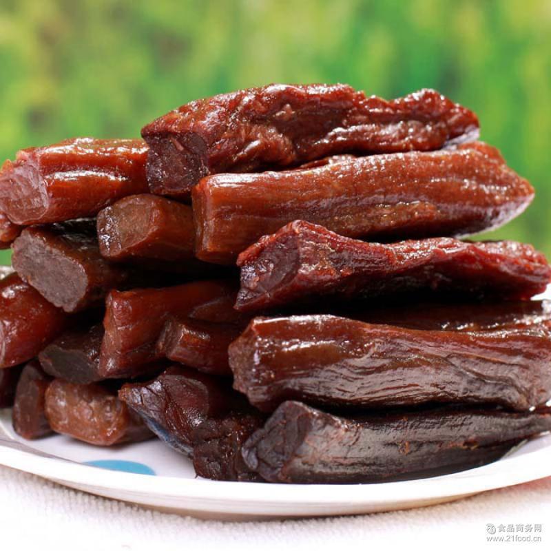 四川特产批发 休闲零食麻辣/五香味牦牛肉干52g克 大班指牛肉干