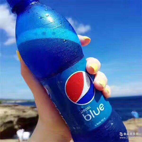 印尼巴厘岛蓝可乐450ML一箱12瓶正品量大询价