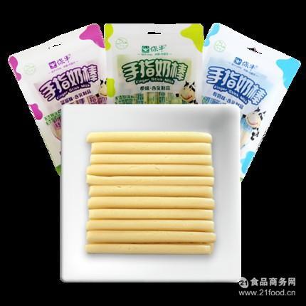 保牛手指奶棒120g多种口味内蒙古特产奶酪 酸酥奶片乳酪零食