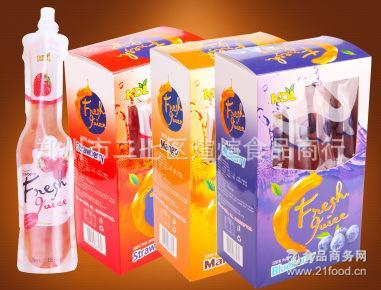 12条 4盒 件 马来西亚进口 盒 188ml KDL可吸果汁果冻 条