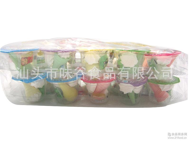 出口热销 中东/非洲 杯装果酱棉花糖