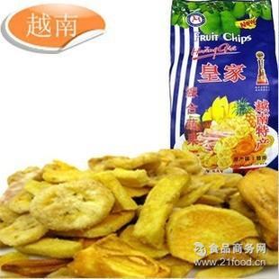 批发 *综合蔬果干250克/袋 越南进口特产零食果干 酥脆可口