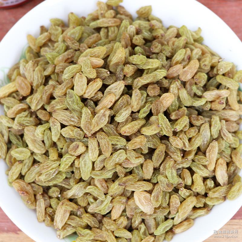 新疆特产提子干批发250g厂家吐鲁番绿香妃无核葡萄干零食干果