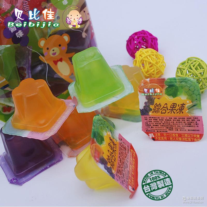 台湾原装进口贝比佳水果果冻婴幼零食炎夏冰品魔芋代餐