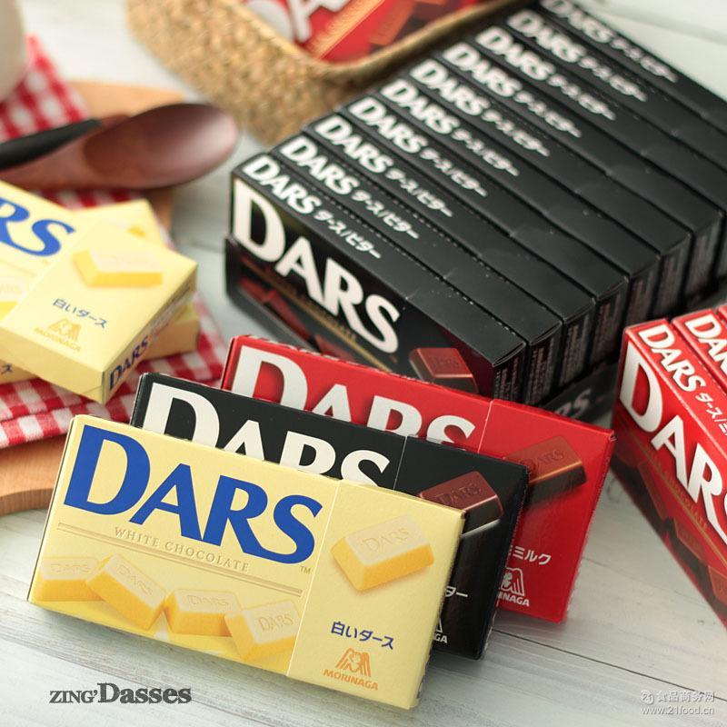 日本进口零食 森永达斯巧克力白色