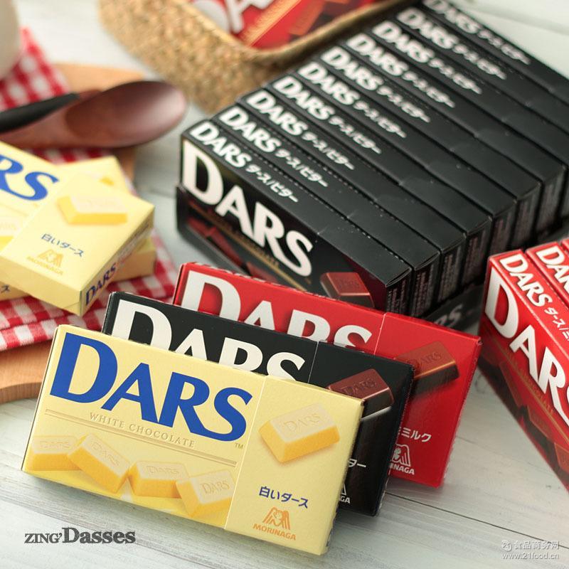 森永达斯黑巧克力 日本进口零食