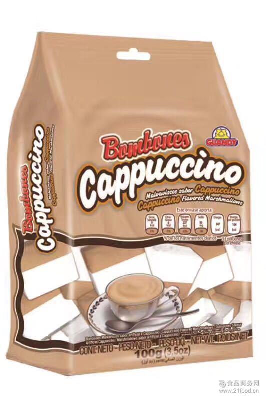 歌迪亚咖啡双味棉花糖 咖啡味 双味棉花糖 多味棉花糖