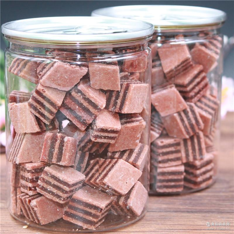 山楂酪三角形汉堡火拼山楂含罐250g罐装蜜饯休闲食品零食代发