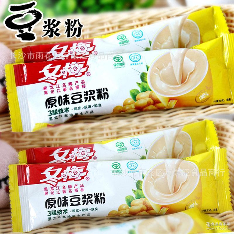 黑龙江* 冬梅长条豆浆粉 营养养胃补钙豆浆粉2.5斤一袋一箱4袋