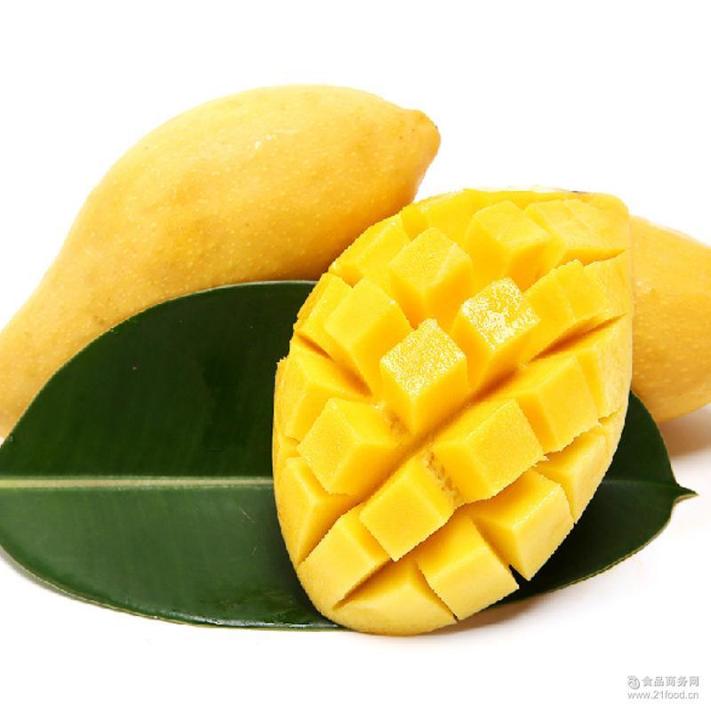 香甜多汁大芒果 海南三亚芒果 新鲜热带水果 原生态水果批发