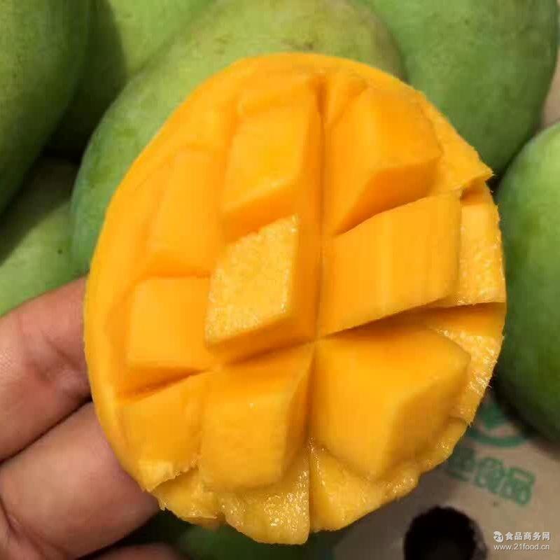 8斤芒果新鲜包邮广西小台农新鲜小台芒水果非贵妃芒 《5斤送3斤