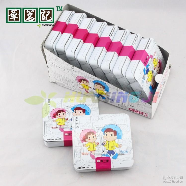 糖果8*40g/盒 不二家糖果 香醇牛奶 A休闲零食品批发 偶遇 日本