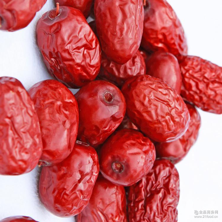 厂家直销新疆特产若羌灰枣一级红枣休闲食品零食红枣煮粥煲汤*