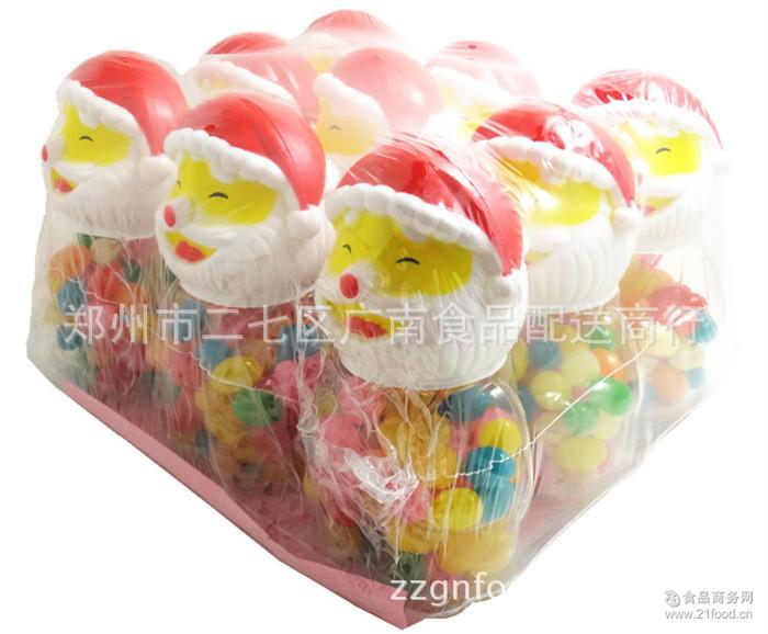 彩色糖果 天凤 儿童创意糖果 吉利糖75g 休闲零食 1箱