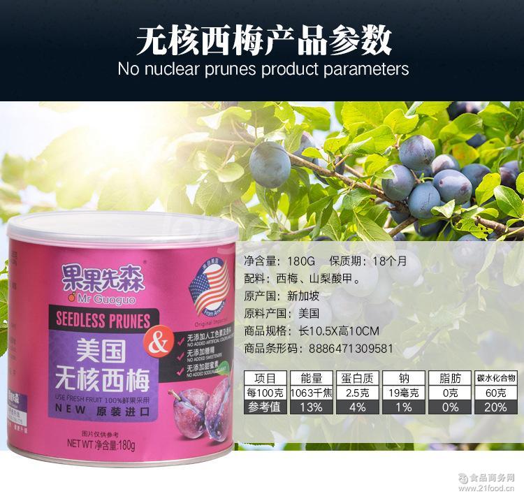 蜜饯蔬菜水果干批发 进口特产休闲零食品 果果先森-无