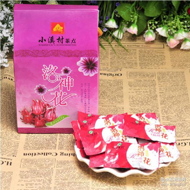厂家保证小溪村蜜饯玫瑰茄洛神花 台湾茶食品 独立装 果脯类花脯