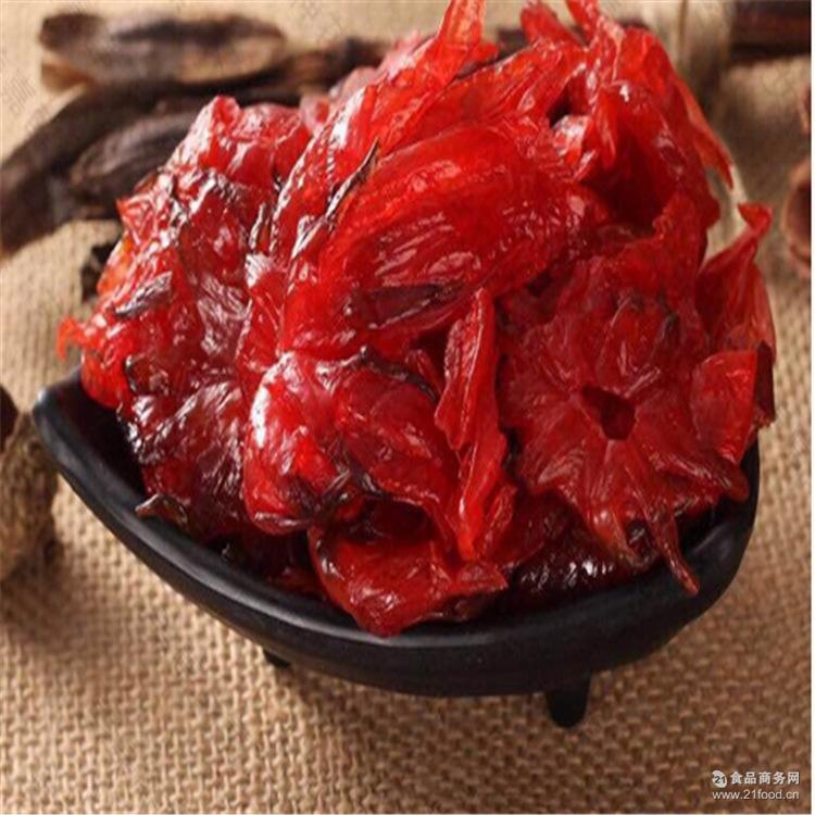酵素蜜饯洛神果贴牌代加工 通便零食玫瑰茄 酵素洛神花oem