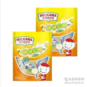 百吉福棒棒奶酪(酸奶+果粒)120g 儿童棒棒奶酪 MILKANA法国奶酪
