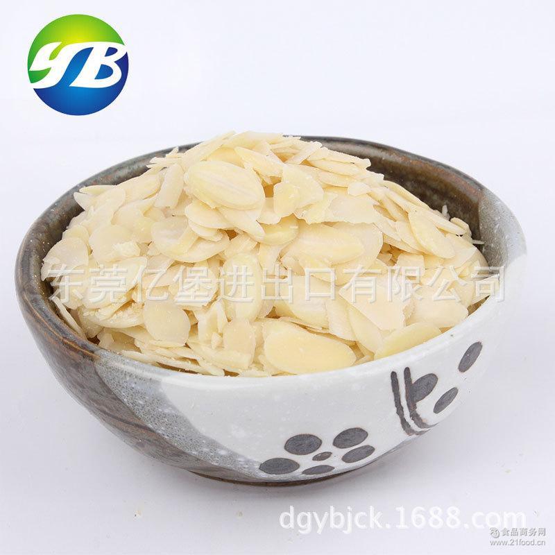 烘焙配料 美国金山杏仁片 原装进口扁桃巴旦木片 11.34kg 杏仁片