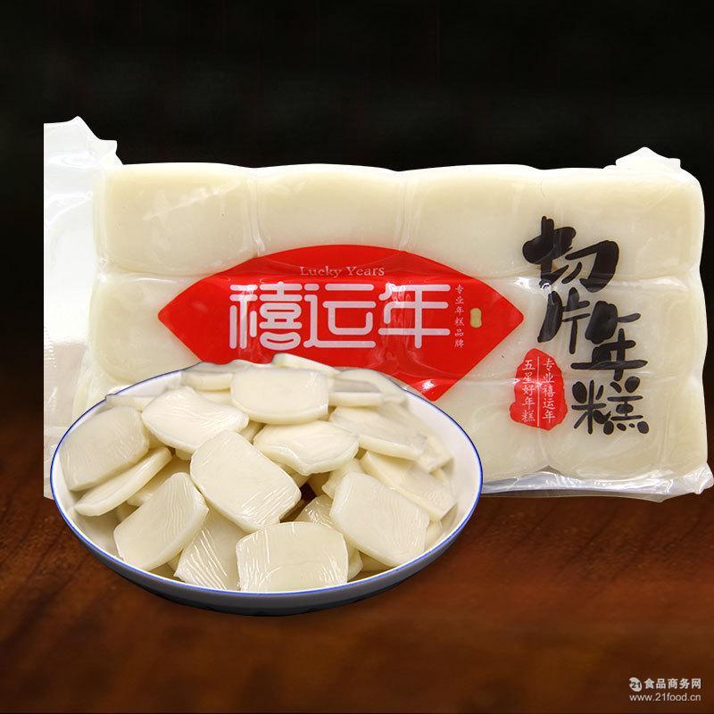 一件24袋 韩式炒年糕米糕片 真空包装 禧运年切片水磨年糕400g