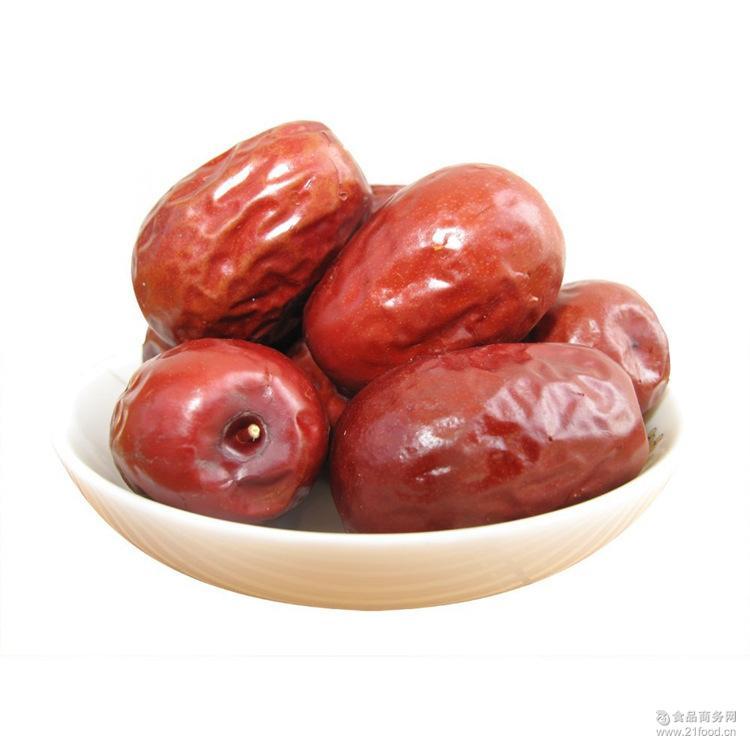 批发新疆特产干果零食和田玉枣三级免洗加工散装红枣