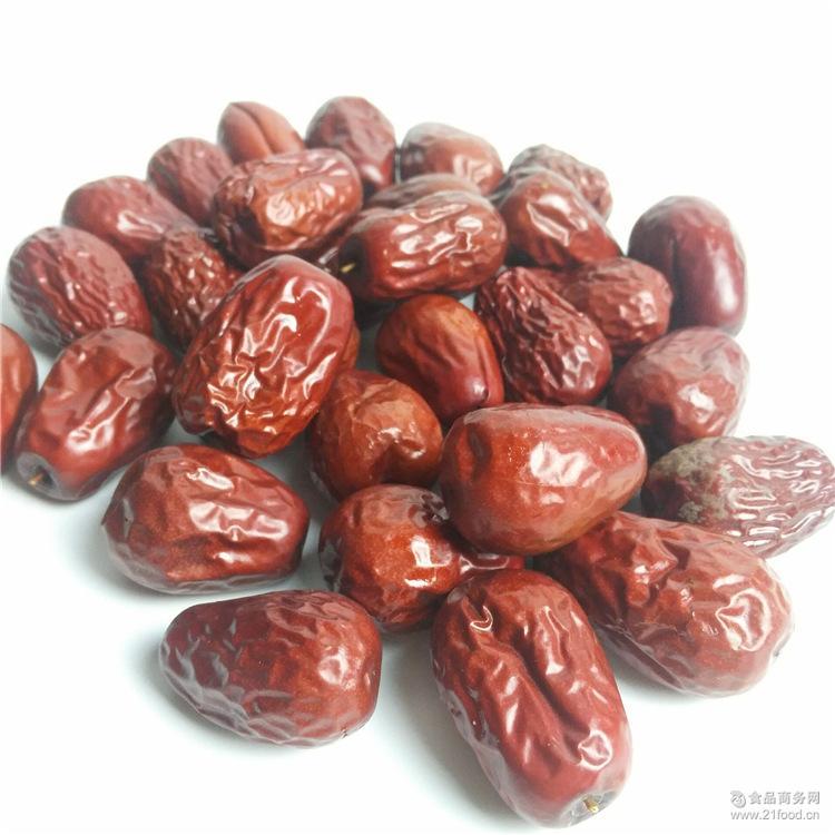 新疆和田玉枣500g袋包装特产零食品 大红枣子三级