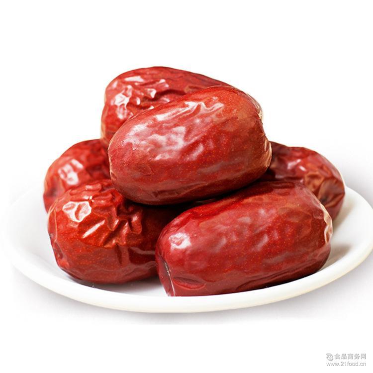 散装和田玉枣批发厂家直销 和田红枣三级 新疆特产大枣干果500g