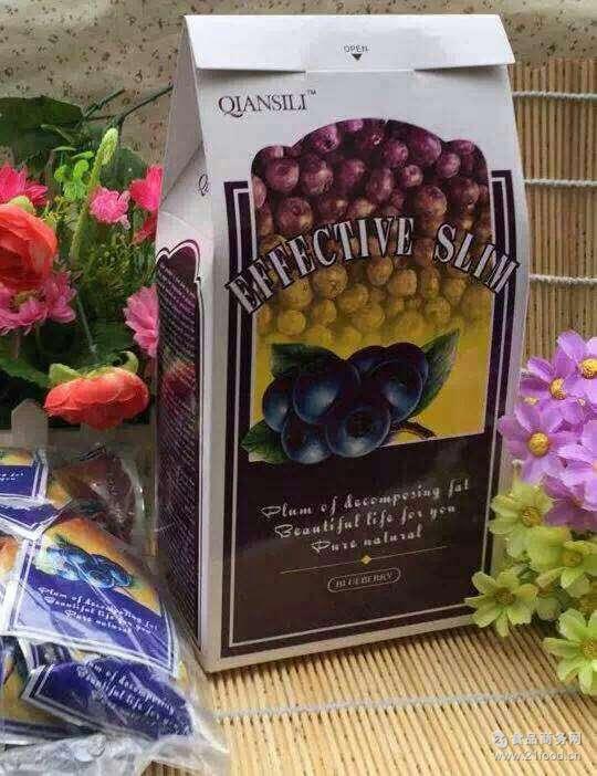 酵素梅养颜酵素梅酵素粉批发代理 台湾纤丝丽蓝莓酵素20粒/盒