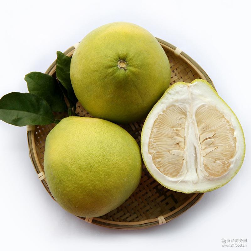 白肉蜜柚 新鲜水果上市 正宗广西容县沙田柚子 2个装 包邮