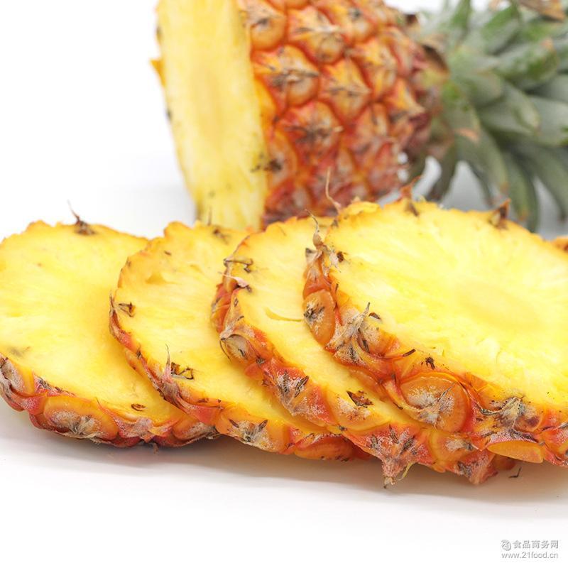 海南金钻凤梨 批发代发 10斤装 非台湾凤梨 新鲜水果 香水菠萝