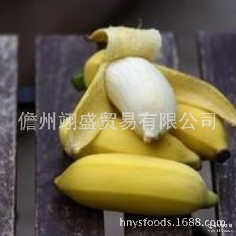 新鲜水果banana 海南芭蕉香蕉鸡蛋粉蕉批发 青香蕉不打药不催熟