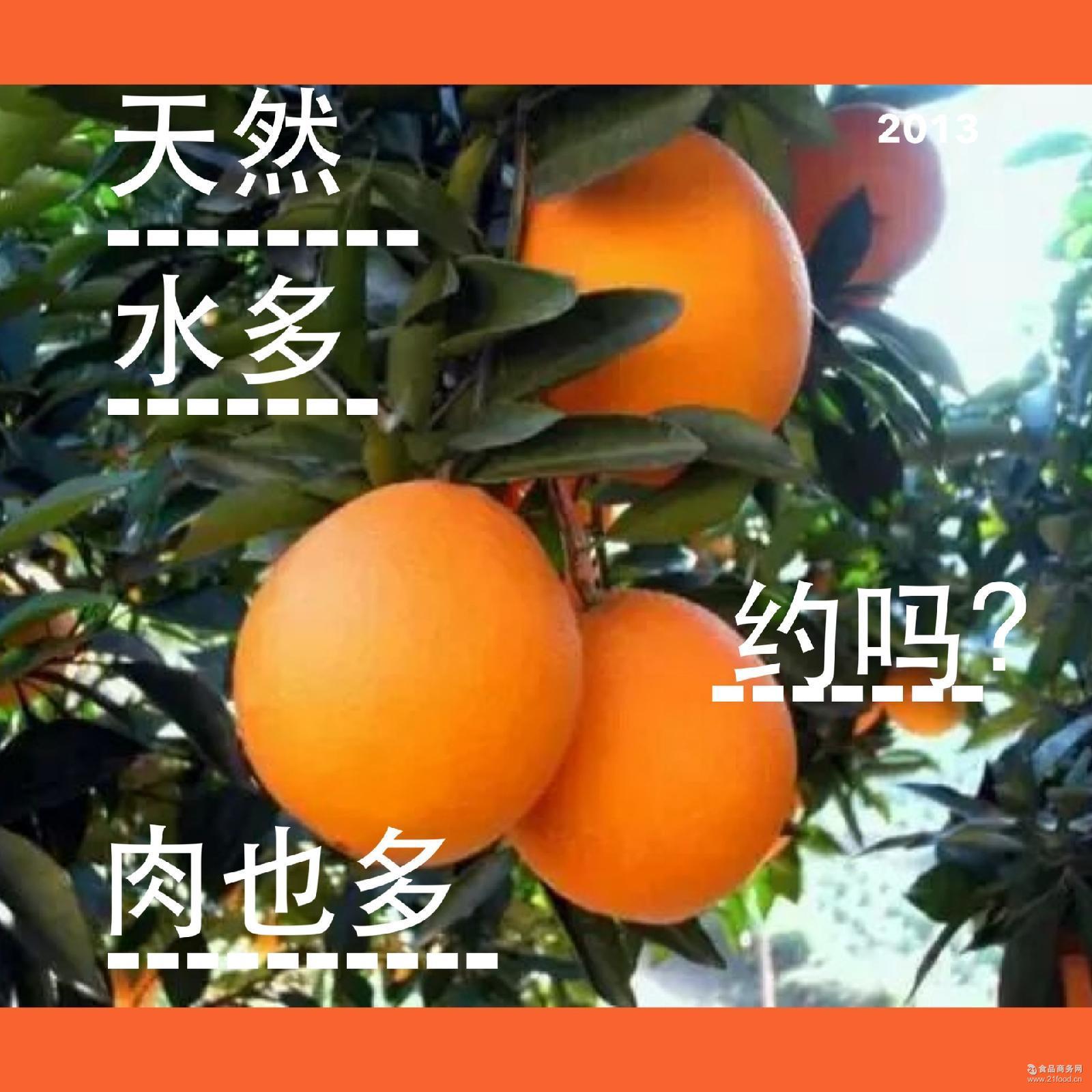 包邮正宗赣南脐橙 橙子10斤装精品果多汁爽口天然无公害 一件代发