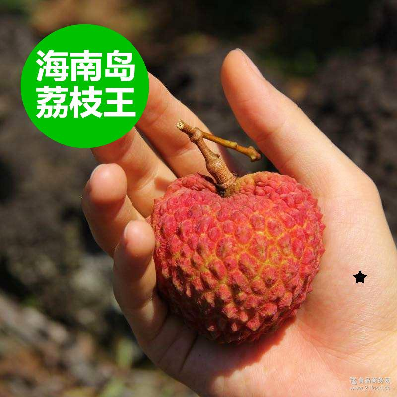 火山岩荔枝 超大个 海南富硒荔枝王 新鲜水果